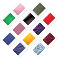 SWATCHES Poly/Cotton Broad Cloth Solids