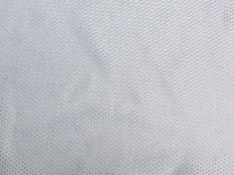 Small Jersey Mesh Silver