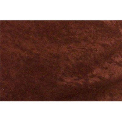 Alova Suede Cloth Dark Brown