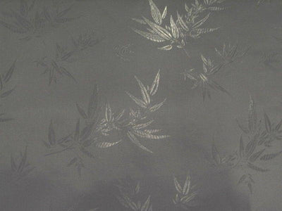 Chinese Bamboo Brocade Black Brown