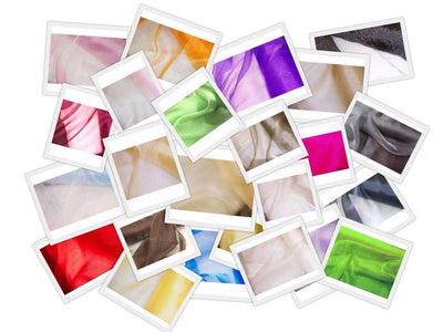 SWATCHES Crystal Organza