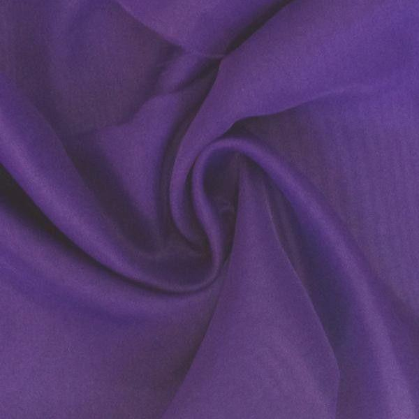 "Voile 120"" Wide Sheer Fire Retardant NFPA 701 Purple VL-15"