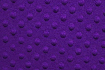 Minky Dimple Dot Fur PURPLE