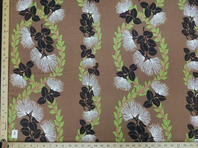 LIGHT BROWN FLORAL HP-2