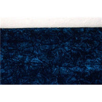 Upholstery Crushed Velvet Navy