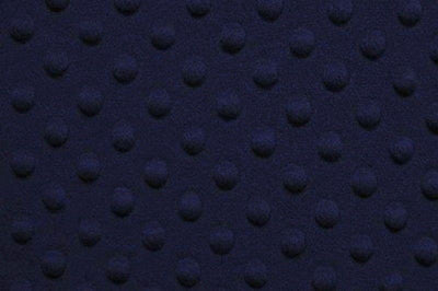 Minky Dimple Dot Fur NAVY BLUE