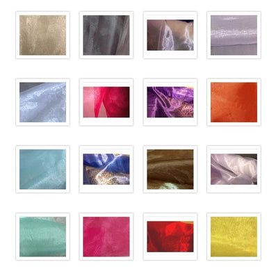 SWATCHES Mirror Organza