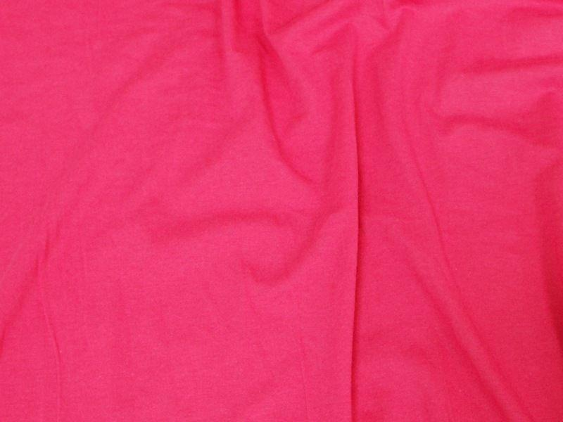 10 Ounce Cotton Jersey Spandex Knit FUCHSIA