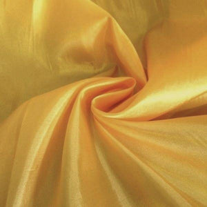 "China Faux Silk Habotai 58"" Wide Gold HB-23"