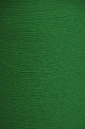 Gauze 100% Cotton FLAG GREEN