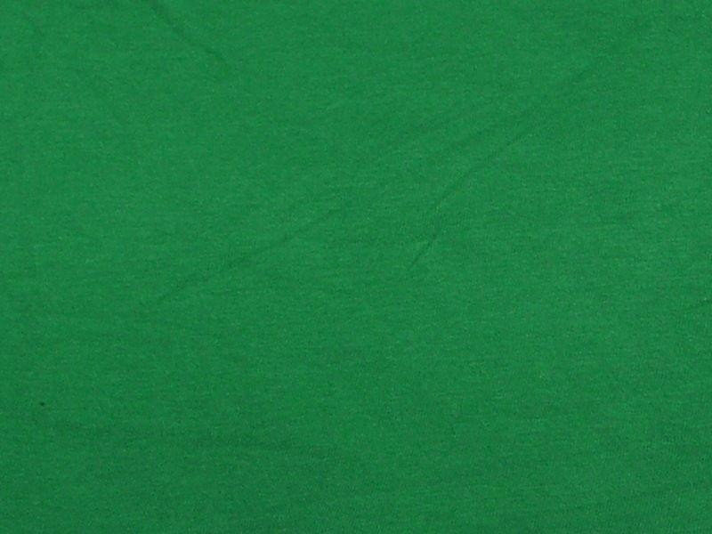 7 Ounce Cotton Jersey Spandex Knit KELLY GREEN