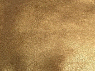 Upholstery Metallic Faux Leather Copper