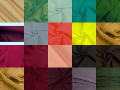 SWATCHES Chiffon 60 Inch Wide