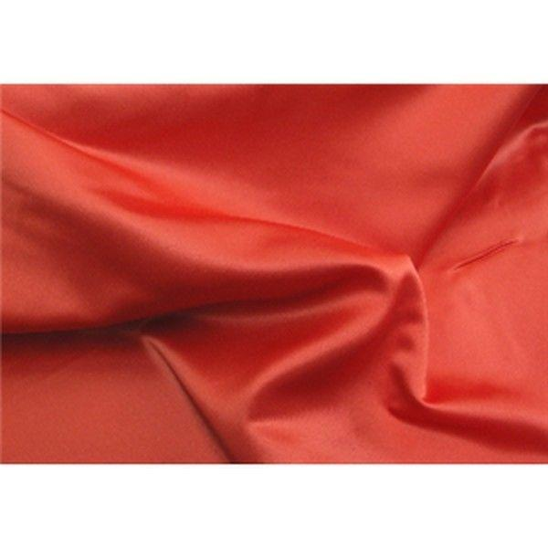 Dull Bridal Satin/Lamour Satin (peau di soie) DARK ORANGE