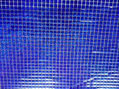 Hologram Square Sequins ROYAL BLUE HS-5