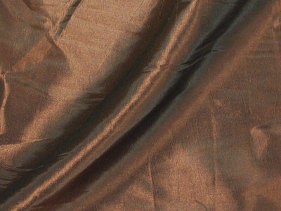 Two Tone Dress Taffeta Chocolate