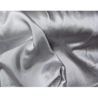 Stretch Charmeuse Satin Silver