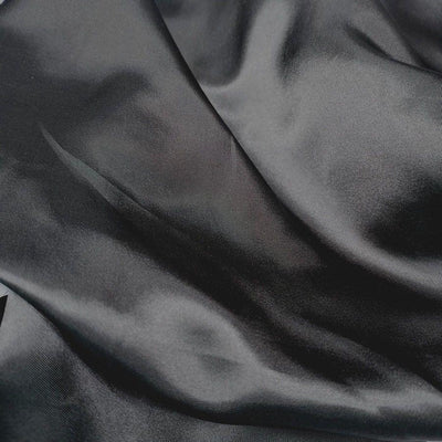 Charmeuse Silky Satin 58 Inch Width CHARCOAL