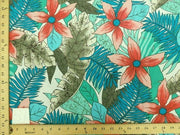 TURQUOISE FLORAL HP-57