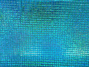 Hologram Square Sequins TURQUOISE HS-4