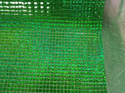 Hologram Square Sequins GREEN HS-1