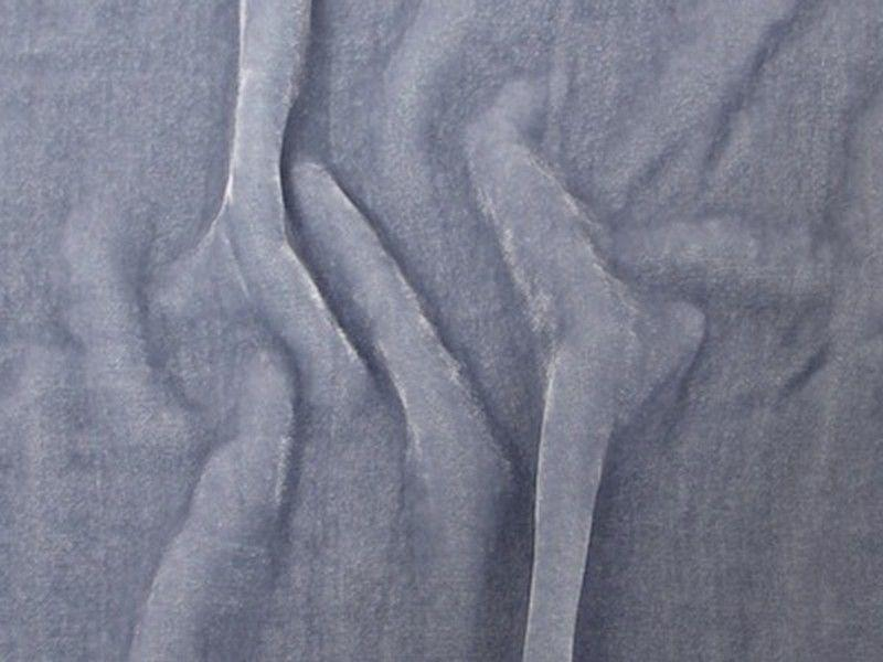 "Plush Silk Velvet 54"" Wide LIGHT BLUE"