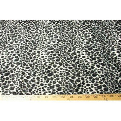 Velboa Animal Skins Fur Gray Cheetah Leopard