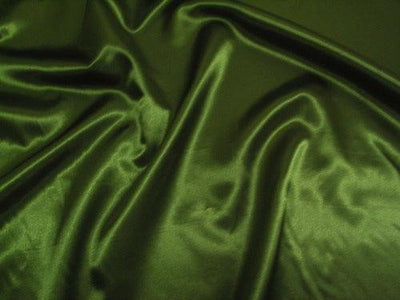 Bridal Satin OLIVE GREEN
