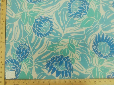 TURQUOISE FLORAL HP-105