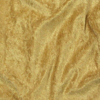 Crushed Panne Velour Velvet Gold