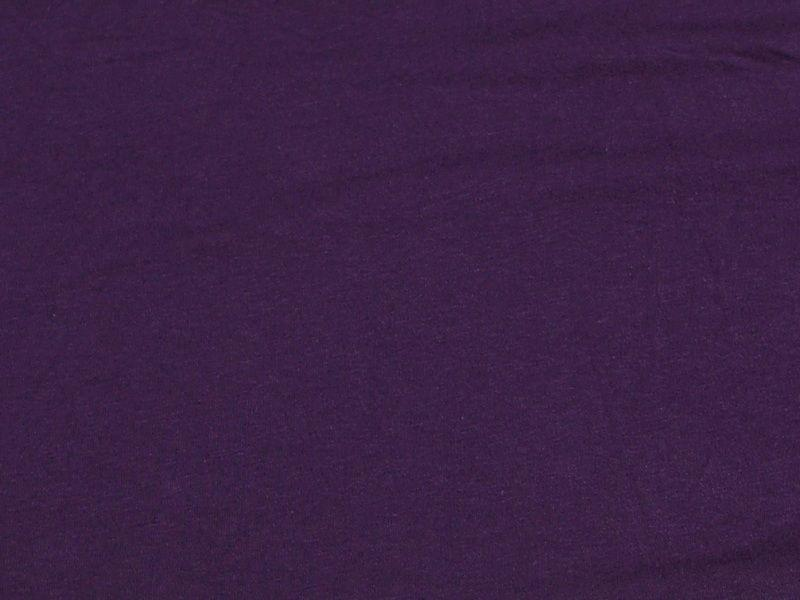 10 Ounce Cotton Jersey Spandex Knit PURPLE/PLUM