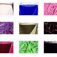 "SWATCHES Plush Silk Velvet 44"" Wide"