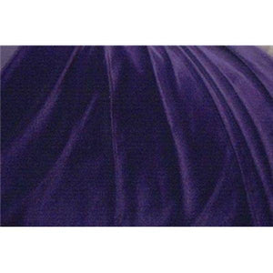 Plush Spandex Velvet NAVY BLUE