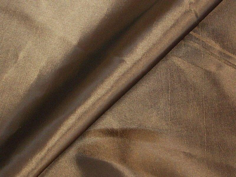 Two Tone Dress Taffeta Espresso