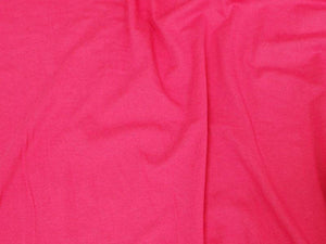 7 Ounce Cotton Jersey Spandex Knit FUCHSIA