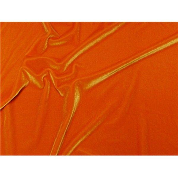 Plush Spandex Velvet ORANGE