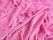 "Plush Silk Velvet 44"" Wide CANDY PINK"