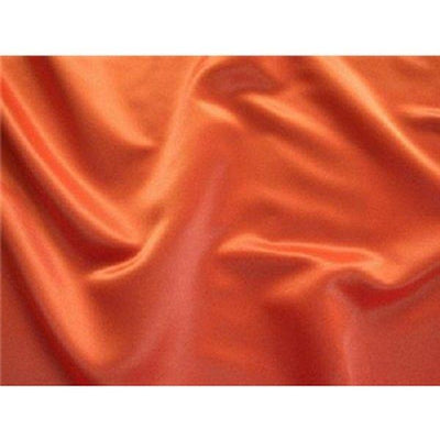 Dull Bridal Satin/Lamour Satin (peau de soie) ORANGE