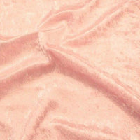 Crushed Panne Velour Velvet Peach Pink