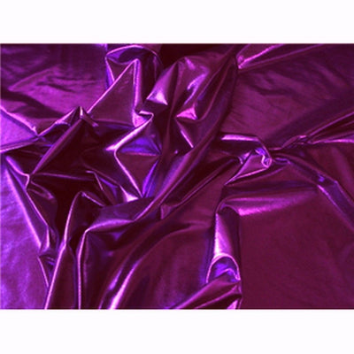 Metallic Spandex Violet/Purple