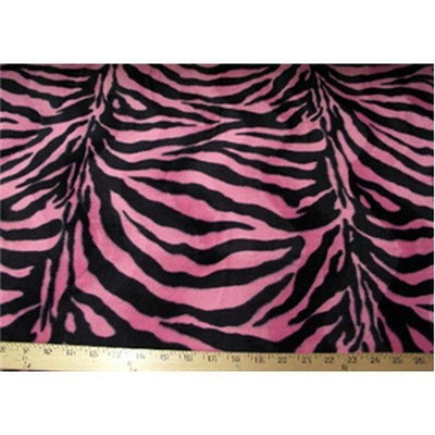 Velboa Large Pink Black Zebra Prints