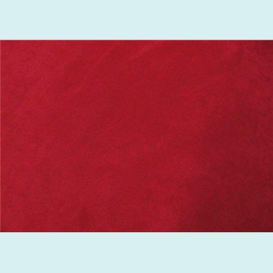 Upholstery Micro Suede DARK RED