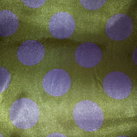 SWATCHES Polka Dot Charmeuse Satin