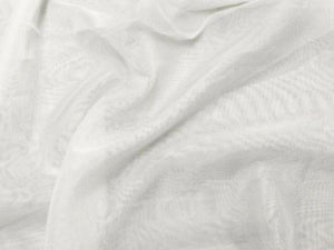 "Voile 120"" Wide Sheer Fire Retardant NFPA 701 Ivory VL-2"