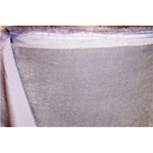 "Plush Silk Velvet 44"" Wide SILVER"