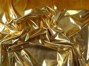 Metallic Spandex Gold