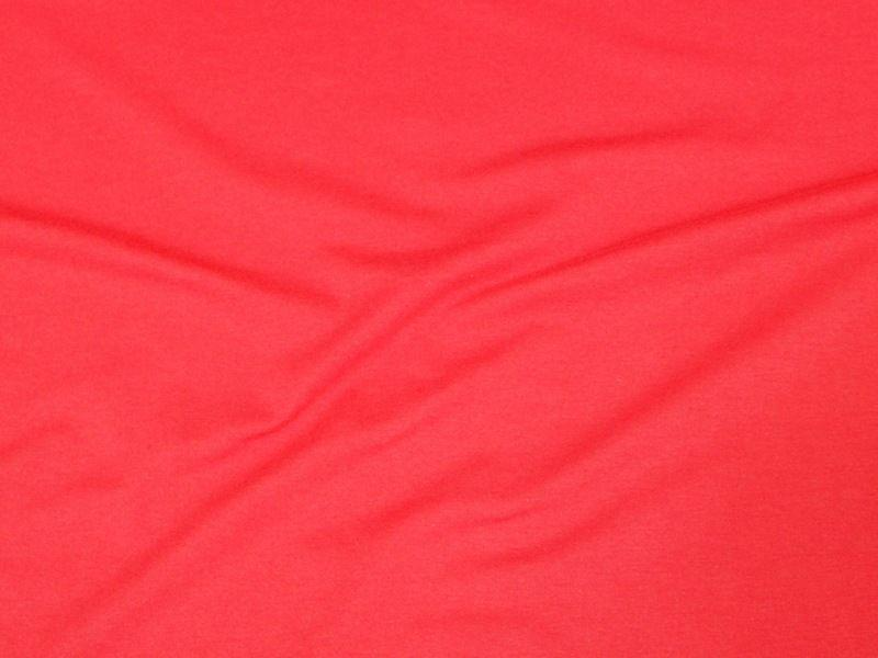10 Ounce Cotton Jersey Spandex Knit CORAL