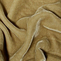 "Plush Silk Velvet 54"" Wide LIGHT BROWN"