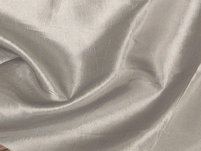 Two Tone Dress Taffeta Silver