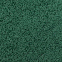 Minky Sherpa Lambs Wool Hunter Green
